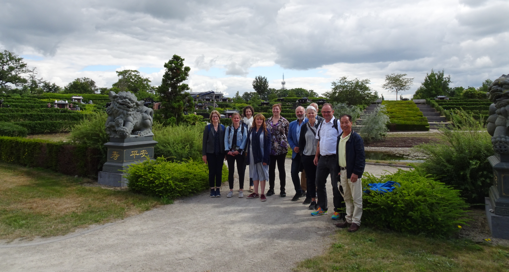 Team at Chinese Cemetery in Kranenburg, Zwolle, the Netherlands