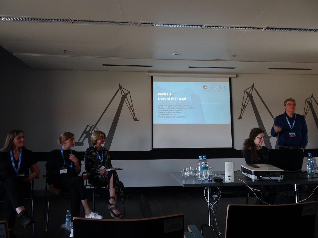Avril Maddrell at Gdansk HERA conference, Poland