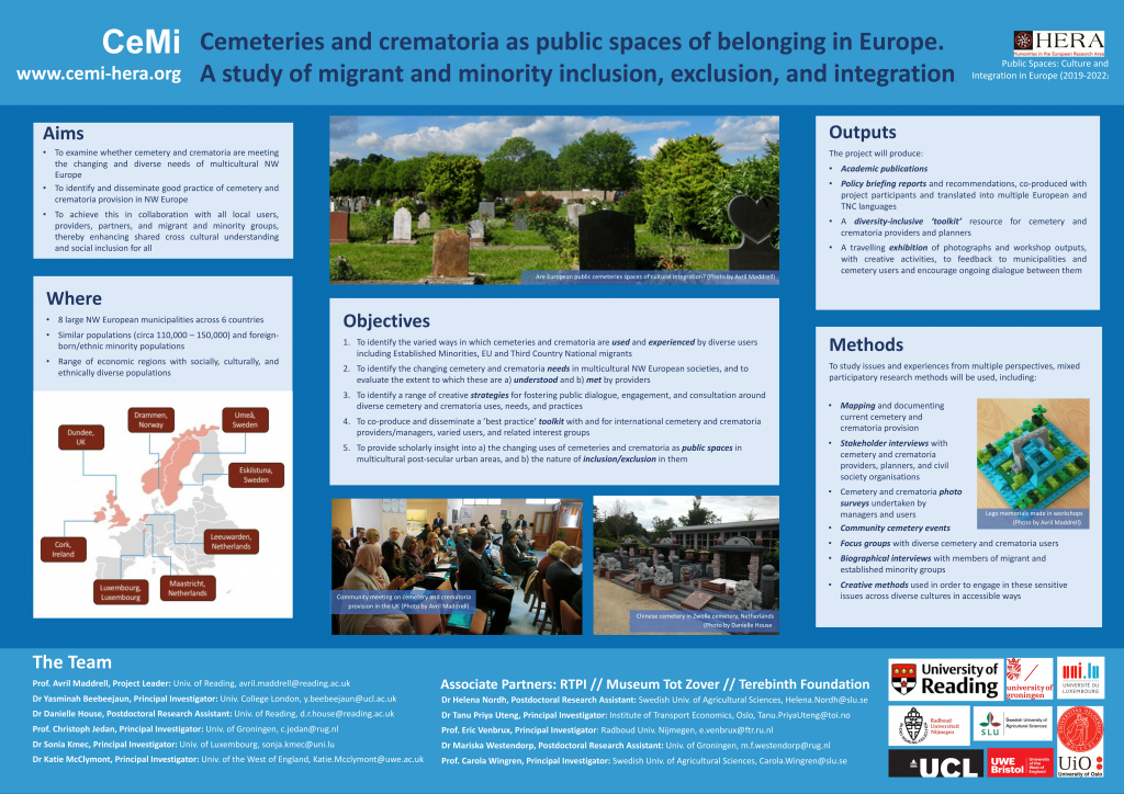 Poster at Gdansk HERA conference, Poland