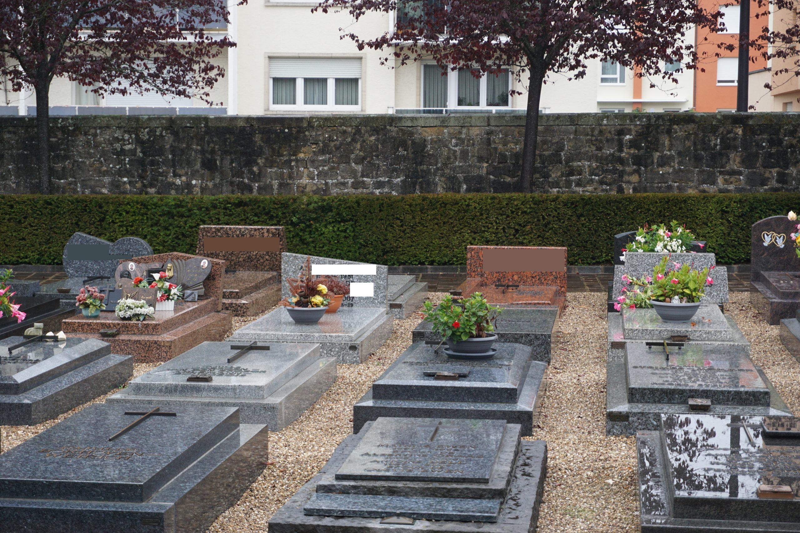 Cemetery Bonnevoie Luxembourg 5