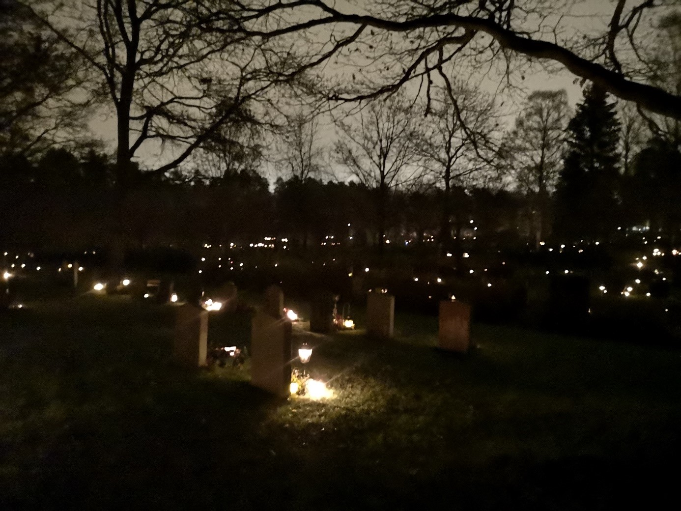Sankt Eskils Kyrkogård cemetery Eskilstuna Sweden Overview
