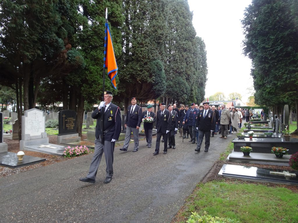 All Souls' Celebration at cemetery Tongerseweg in Maastricht, the Netherlands