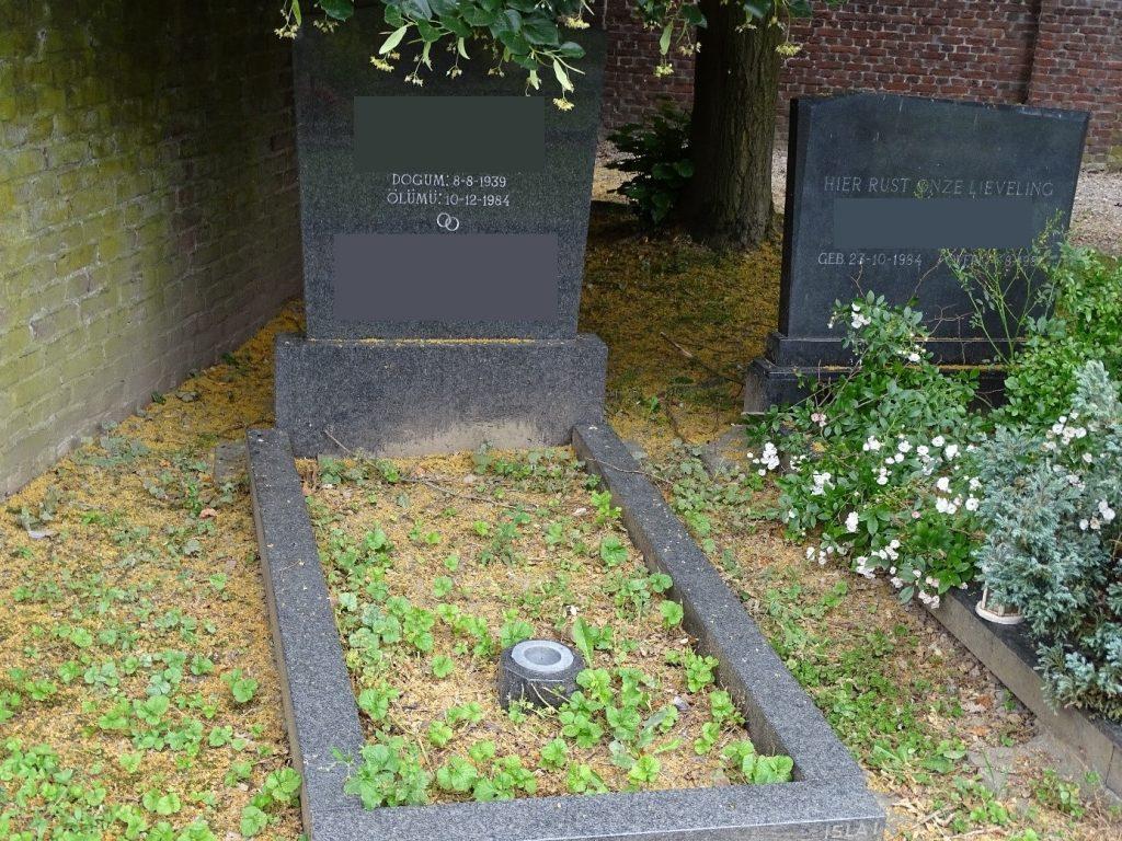Oldest Earliest Islamic grave Tongerseweg Maastricht, the Netherlands