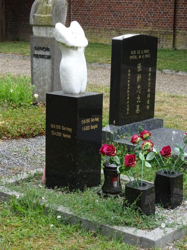 Heterodox grave Tongerseweg Maastricht, the Netherlans