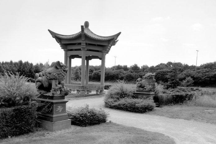 Chinese cemetery Tongerseweg Zwolle, the Netherlands